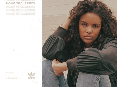 Home of Classic 01 photography brutalism layout adidas adidas originals