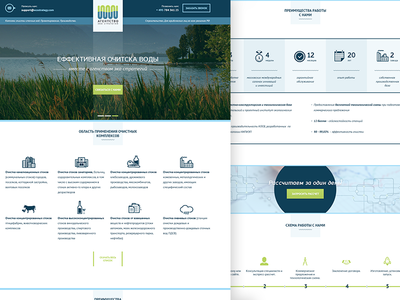Eco Strategy Agency - Onepage Website