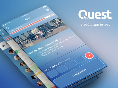 Freebie. Quest App