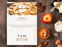 Free Apple Pie Widget