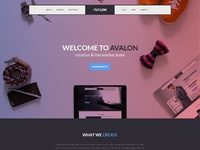 Avalon studio page freebie