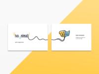 Viva Animali Business Cards