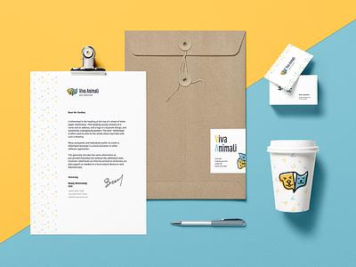 Branding for Viva Animali logo swag dog cat pet shop pets brand identity business card stationary branding brand
