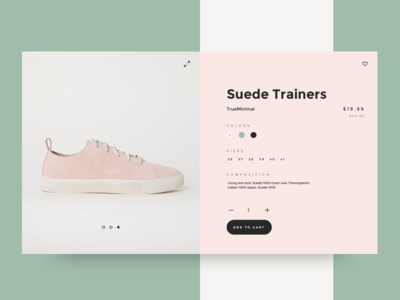 Product card for In House V5 apparel layout slick minimal product product card shopify ecommerce store shop ux ui