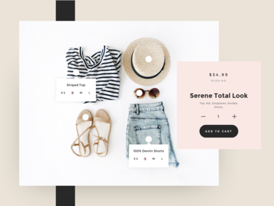 Apparel Kit for In House ui kit apparel layout minimal product product card shopify ecommerce store shop ux ui