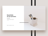 Ecommerce brand card