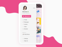 Dribbble iOS app ideas