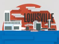 Downtown Louisville Render