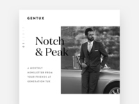 Notch & Peak - Gentux Newsletter