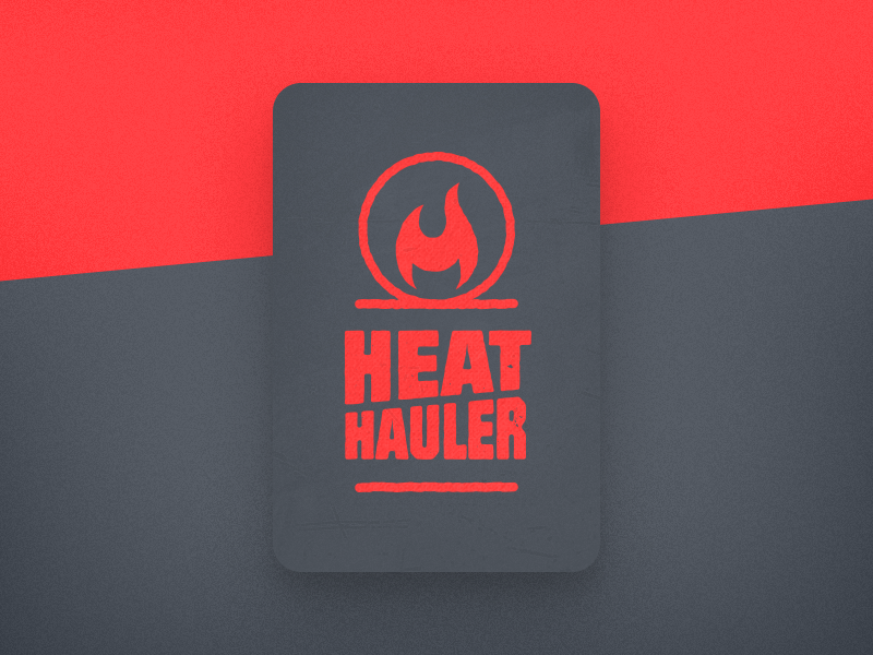 Heat Hauler Logo branding design graphic design logo design