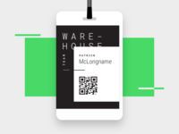 Warehouse ID Badge