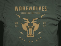 Warevolves Shirt Design