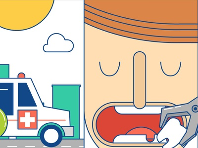 Mir_02 flat illustrations cute cure diabete
