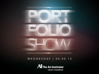 Portfolio Show | Campaign V2