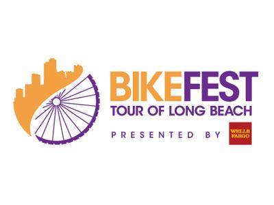 Bike Fest bikefest cycling logo graphic design vector event city longbeach