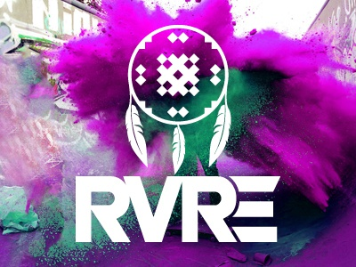 RVRE branding logo graphic design lifestyle