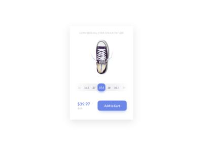 Daily UI Challenge #012 - E-Commerce Shop (Single Item)