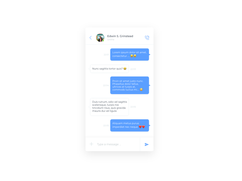 Daily UI Challenge #013 - Direct Messaging direct messaging chat app chat bot chat mobile app mobile daily challange ui design daily 100 challenge daily 100 dailui app adobe xd