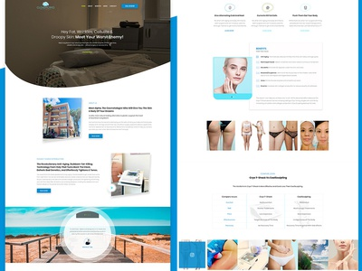 Therapy & Spa Landing Page
