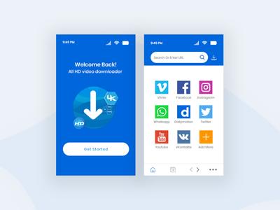 Video Sharing App Concept