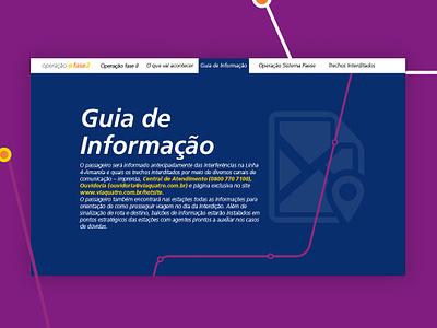 Metro Hotsite ui web landing page flat web design responsive hotsite design