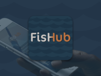 Concept App Design: FisHub Mobile Fishfinder