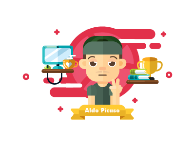 Hallo Dribble mbe style debut vector thank cute colorful invitation dribble illustration character design flat