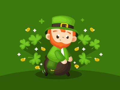 Saint Patrick's Day Illustration 😊