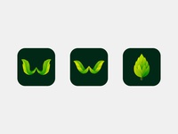 tree wallpaper app icon concept