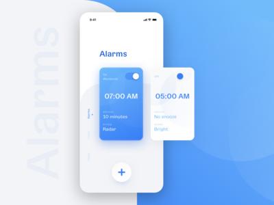 Alarm app