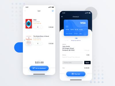 Ebook App –Cart & Checkout – 3