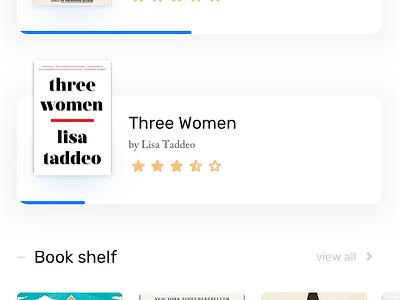 Ebook App – 4 design app design clean app book reader dark minimal uidesign ui ux design ux mobile