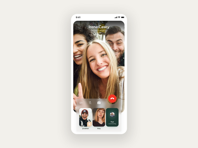 WhatsApp redesign – Chats and Video call redesign whatsapp typogaphy call video navbar search bar messenger chat uidesign ux design design app design minimal clean ux ui mobile app