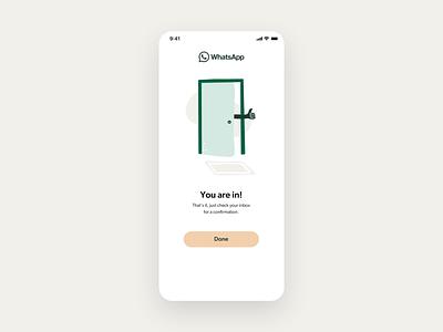 WhatsApp redesign profile user messenger chat redesign whatsapp motiongraphics motion-design motion design animation after-effects ux design app design minimal clean ux ui mobile app