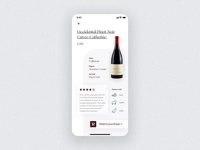 Wine Shop App sketch flat navbar animals icon typogaphy card ecommerce shop wine uidesign design ux design app design minimal clean ux ui mobile app