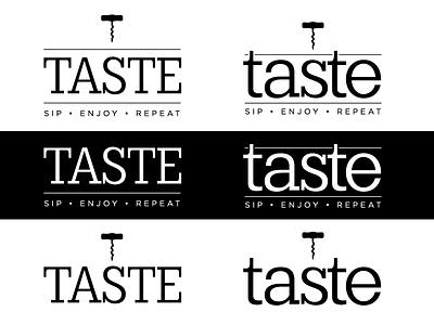 Taste type logo design logo