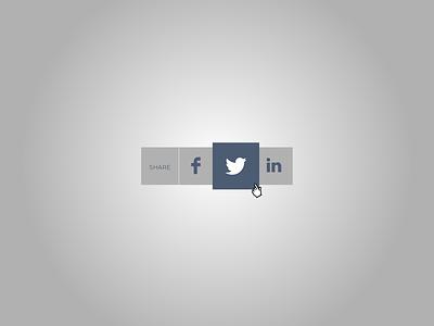 Social Share daillyui socialshare 010