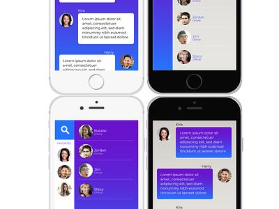 Direct Messaging dailyui directmessaging 013