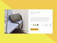 E-Commerce Shop - Single Item