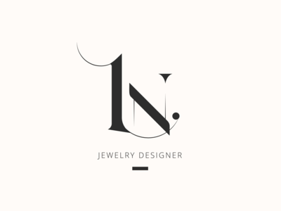 Logo for Jewellery designer