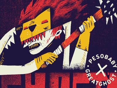 Ghost S hip-hop collabo blind lion