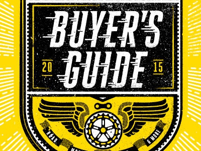 Buyer's Guide illustration editorial texture twoarms bursty lines