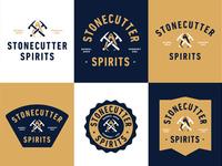 Stonecutter Spirits Branding