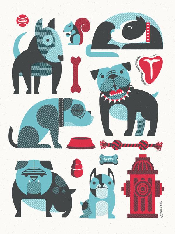 Twoarms bulldogs