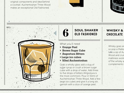 Whiskey Illo 2 whiskey illustration booklet info info-graphic