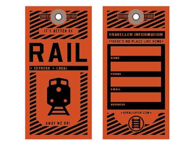 Rail - Travel tag