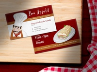 Bon Appetit Business Card