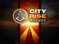 City Rise Safety Branding Graphic