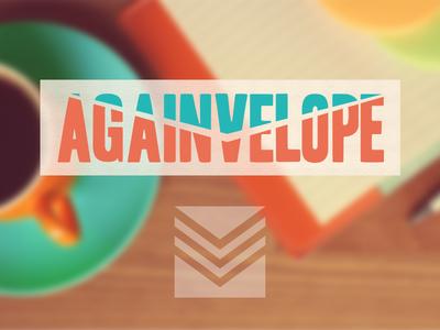 Againvelope Branding packaging layout print branding againvelope