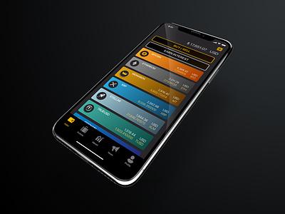 Monarch Wallet App mobile monarch app ux ui design